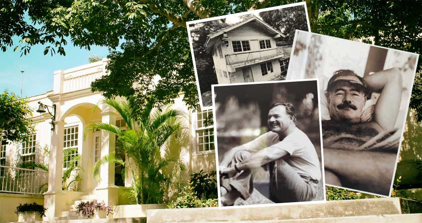Meeting Hemingway at Finca Vigía in Havana.