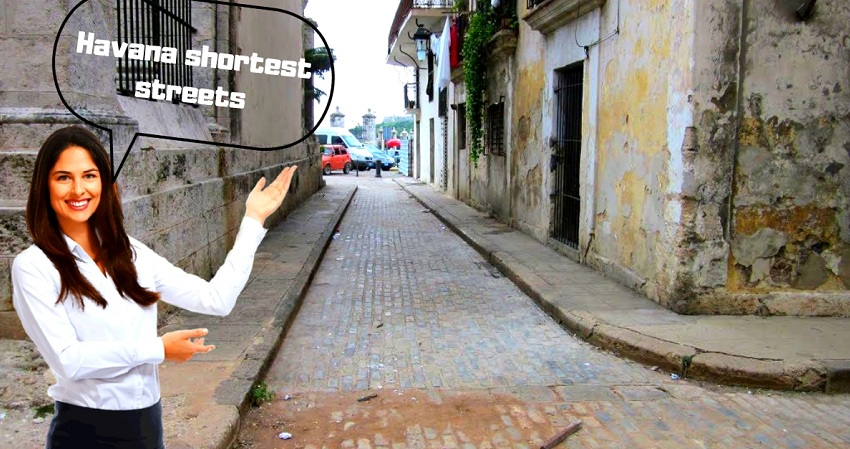 Havanamazing: Shortest streets in Old Havana